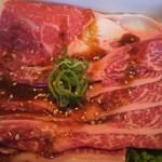 14536819 - 神戸牛の薄切カルビ☆