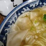 麺処 ら塾 - 塩チャーシューワンタンメン