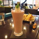 リーサカフェ - 苺バナナスムージー(´ω`)