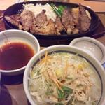 やよい軒 - ビーフステーキ定食 by shoeshouse
