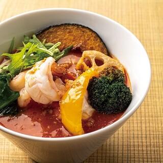 海老トマト麺