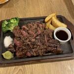 肉バル ガブット - ガブットハラミステーキ(360g)♪
