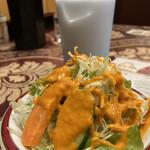 asian restaurant & bar sarathi - サラダ〜 ラッシ〜♪