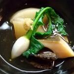 治作 - 煮アワビと大根の煮付け