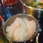 韓国屋台Mr.チージュ - ご飯