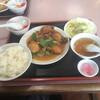慶華楼 - 料理写真:2月のランチから!牡蠣の辛子炒め1020円