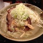 14538565 - 塩ラーメン ネギ&モヤシ大盛
