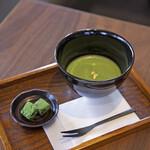 【期間限定】金粉入り抹茶と生チョコのセット(~2/28まで)