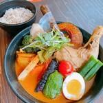 奥芝商店 - やわらかチキンと十勝の彩り野菜カリー