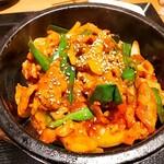 慶美 - ⚫石焼き豚肉炒め