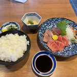 丸高食堂 - 料理写真:二種盛合せ定食