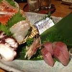 梅酒 居酒屋 彩 - 刺身5種盛り