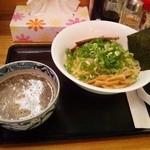 らーめん そら - そら濃厚つけ麺(800円)