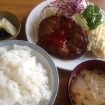 三好弥 - 料理写真:ハンバーグ定食