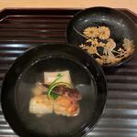 大神 - 〈椀物〉日本料理は椀物が全て、と言われています。美しいお椀に惚れ惚れ。