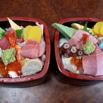 寿司処やぐら - チラシの梅と竹