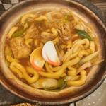 藤蔵 - 料理写真:かに屋によく似た味噌煮込みうどん