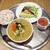 cafe Clap - 料理写真:ロティサリーチキンと揚げ野菜のスープカレー