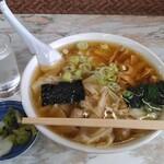 竹田家手打ラーメン店 - 料理写真:ワンタンメン