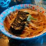 自家製麺カミカゼ - 醤油ラーメン ¥750 トッピングメンマ ¥100