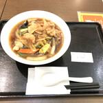 東京餃子軒 - 料理写真:肉五目あんかけそば