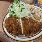 Kicchinnankai - ひらめフライ+しょうが焼き