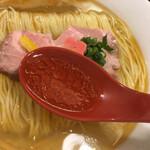145416154 - 澄んだ黄金のスープ。