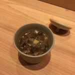 鮨利﨑 - すっぽん茶碗蒸し