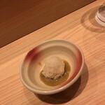 鮨利﨑 - 肝ソース飯ぶっこみ