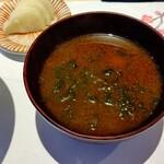 Kappouyuzuha - 美味しいなめこと青のりの赤出汁