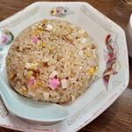 ラーメン ジャンボ餃子 天神 - 料理写真:炒飯770円