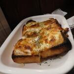 レミさんち - 料理写真:チーズフォンデュトースト