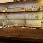 キールズ・バーハウス アオバダイ - かっこいいでしょ?KEEL'S BAR HOUSEと彫られた、これはなんでしょう?