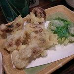 だい人 - タコの天ぷら