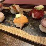 Nanairotemariuta - 七色てまり寿司 7種
