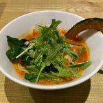 空と大地のトマト麺 Vegie  - 9種野菜のトマト麺(880円)