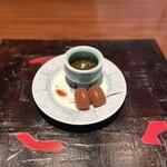 日本料理 時宜 - 玉こんにゃくともずく