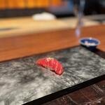 日本料理 時宜 - 赤身の漬け