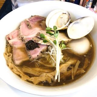麺屋 壱心 - 料理写真:特製蛤そば