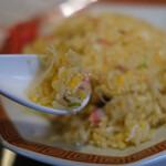 しんざん - 料理写真:パラッパラのチャーハン