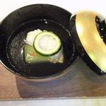 14544183 - 夏穴子の吉野打ちと冬瓜の清汁仕立て