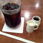 14544509 - 食後のアイスコーヒーは250円