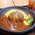 十六雑穀オムライス&ドリア専門店 おむらいす亭 - 料理写真:牛肉100%ハンバーグおむらいす