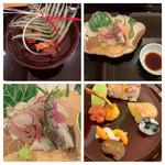 IKOI japanesecuisine - ・前菜 ・刺身盛り合わせ