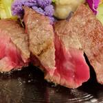 IKOI japanesecuisine - 私的にこの日一番美味しかった淡路ビーフ