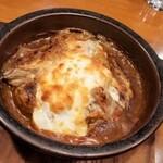 伽哩本舗 - 牡蠣の焼きカレー。