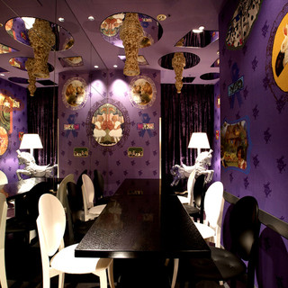 可愛い空間・個室は女子会におすすめ!