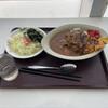 鮫洲運転免許試験場 食堂 - 料理写真:2021.2 カツカレー 810円、サラダ 160円