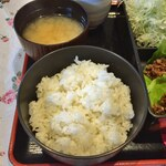 明日香 - ご飯・みそ汁
