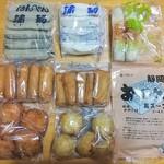 蒲菊本店 - 左上には静岡おでんの顔「黒はんぺん」!蒲鉾専門店のおでんの具材なら間違いないでしょう!